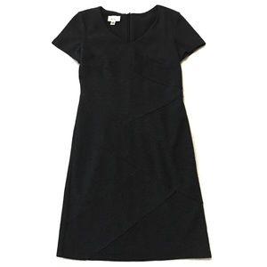 Alyx Dark Gray Dress Wrap Stripe Size 4